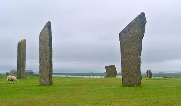 The Standing Stones of Stenness.