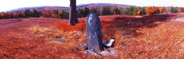 Standing stone at Heath