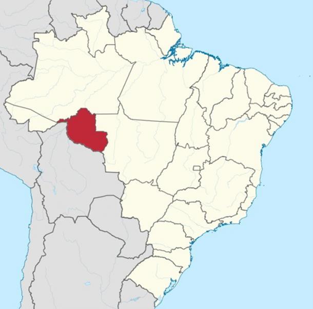 State of Rondônia, Brazil. (CC BY-SA 3.0)