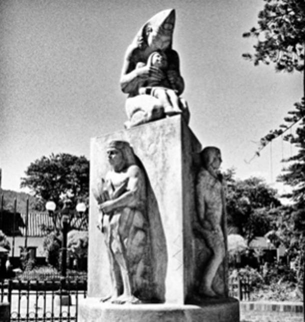 Statue of Chía, she was the full Moon goddess to the Muisca people. (Andruvv / CC BY-SA 2.0)