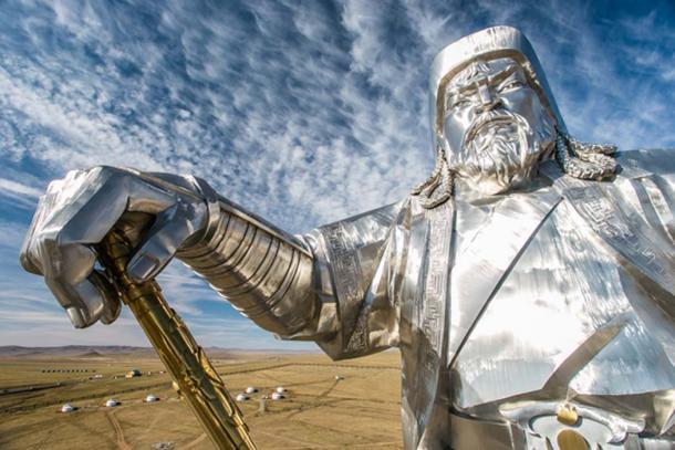 Statue of Genghis Khan. (astreluk / Adobe)