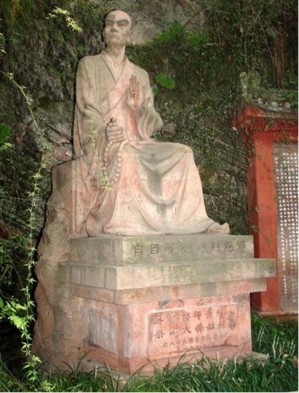 Statue of Hai Tong, Leshan