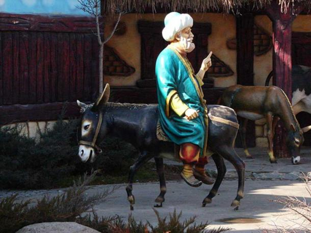 Statue of Nasreddin Hodja and Donkey, Ankara.