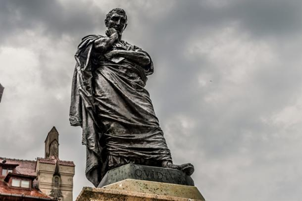 Statue of Ovidius (Ovid) in the historic center of Constanta, Romania (BalconDelMundo /CC BY-SA 2.0)