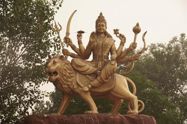 Statue of the goddess Devi (Stockfoo / Adobe Stock)