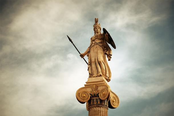 A statue of the goddess Athena in Athens, Greece. (rabbit75_fot / Adobe stock)