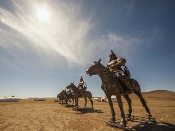 Statues of Genghis Khan's Warriors. (tiplyashina/via Fotolia)
