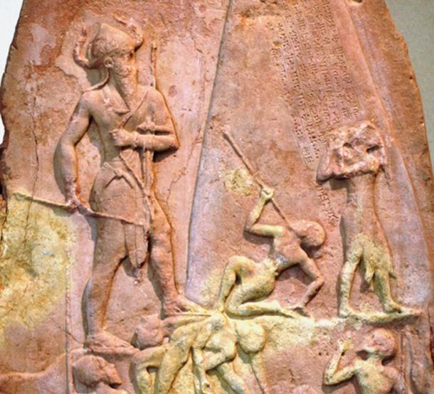 Stele of the Akkadian king Naram-Sin, ruler of the Akkadian Empire. (Fui in terra aliena / Public Domain)
