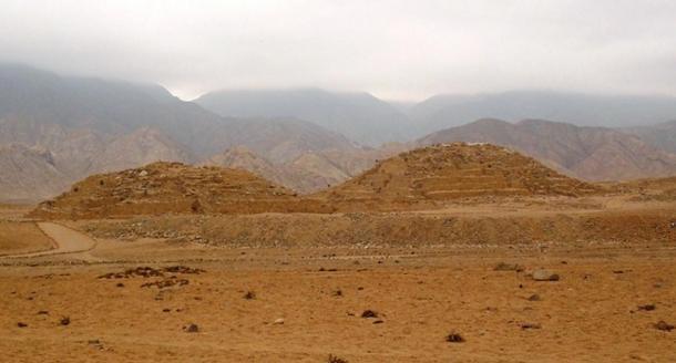 Step pyramids of Caral