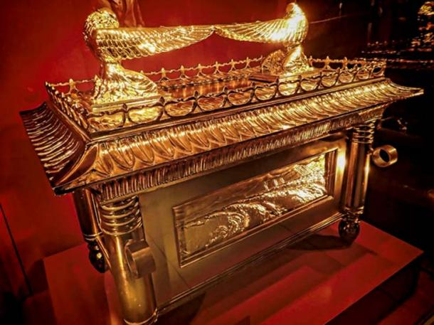 "Steven Spielberg's incarnation of the Ark of the Covenant from the feature film ""Indiana Jones and the Raiders of the Lost Ark"""