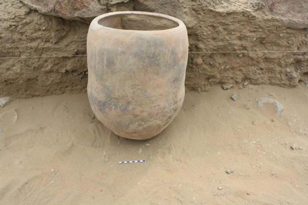 Stew pot from Wasi Huachuma, Peru. (Guy Duke, UTRGV)