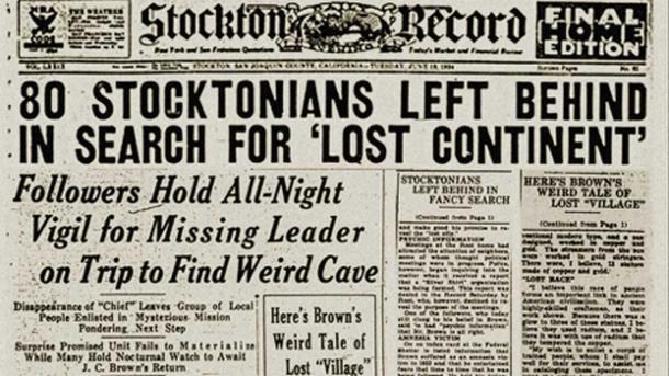 Stockton Record News – Public domain newpaper article, 1934.