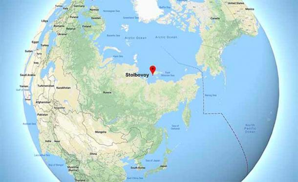 Stolbovoy will be the most northerly settlement if proven. (Image: Siberian Times)