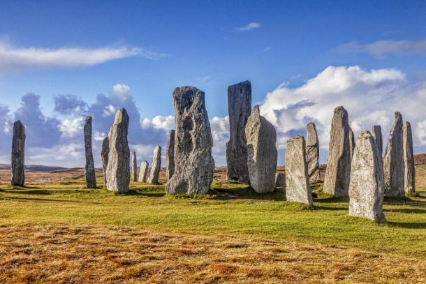Stone circle at Callanish, Isle of Lewis, Western Isles, Outer Hebrides, Scotland, UK. (Colin & Linda McKie/ Adobe Stock)