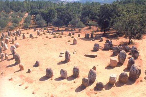 Portugal is home to one of the oldest stone circles in Europe, the Stone circle of Almendres