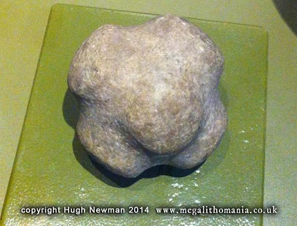 Figure 7. Stone sphere in the Tiwanaku Museum in La Paz
