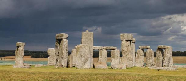 Stonehenge, Whiltshire, England.