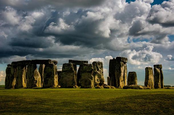 Stonehenge, in Wiltshire, England.