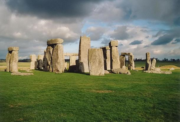 The iconic Stonehenge at Whiltshire, UK.