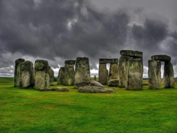 Stonehenge, monumento prehistórico situado en Wiltshire, Inglaterra.