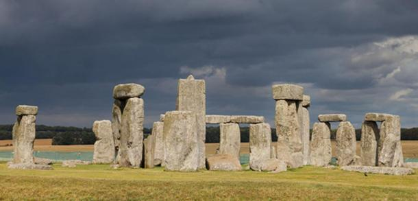 The discovery was made just two miles from the world-famous stone circle of Stonehenge