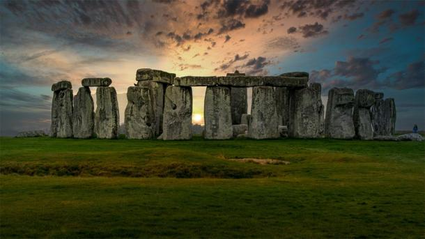 The ingenious Stonehenge engineering pictured during sunset. (Terry / Adobe stock)