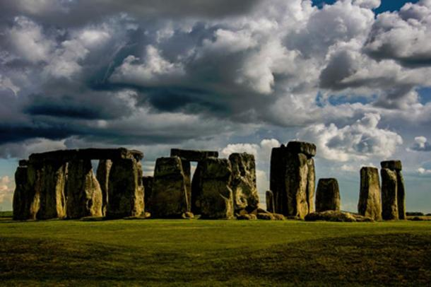 Stonehenge, located near Salisbury in the English county of Wiltshire.