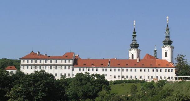 The Strahov monastery, Prague, Czech Republic