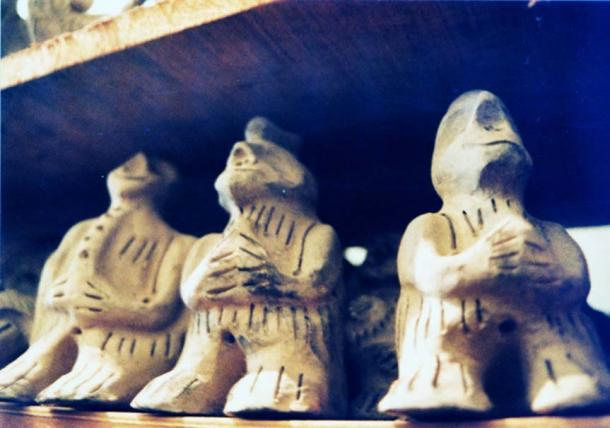 Strange humanoids.
