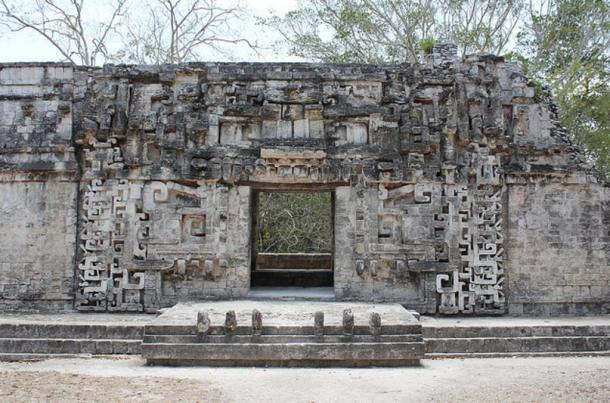 Structure II at Chicanná.