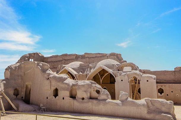 Structures inside Arg-e Bam, Bam Citadel.