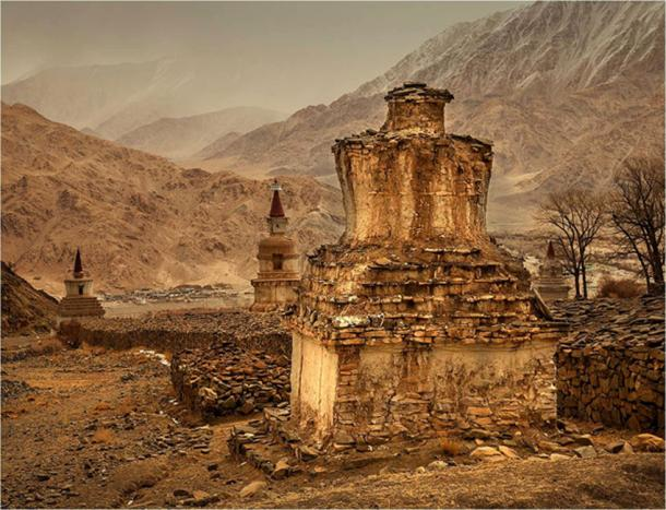 Stupas at the Hemis Monastery (Image: © Willem Daffue)