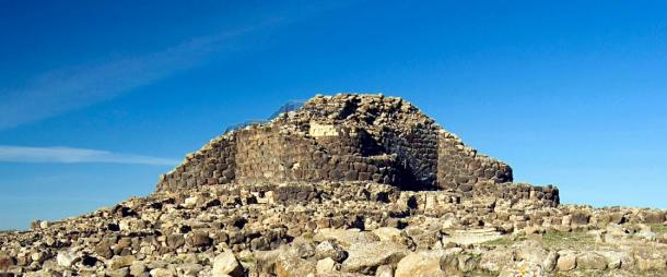 Su Nuraxi archaeological site, which was excavated in 1950, has been dated to the Bronze Age, Sardinia