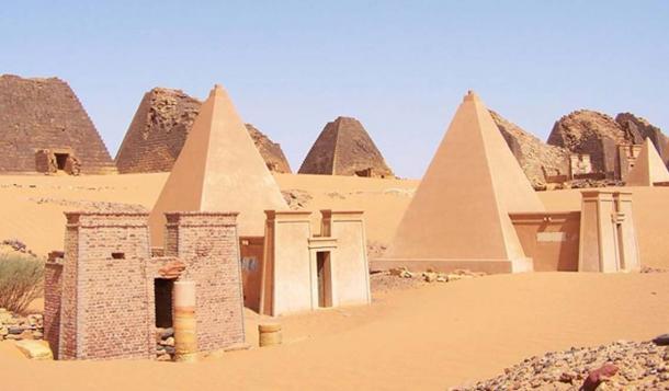 Sudan Meroe Pyramids – UNESCO World Heritage.