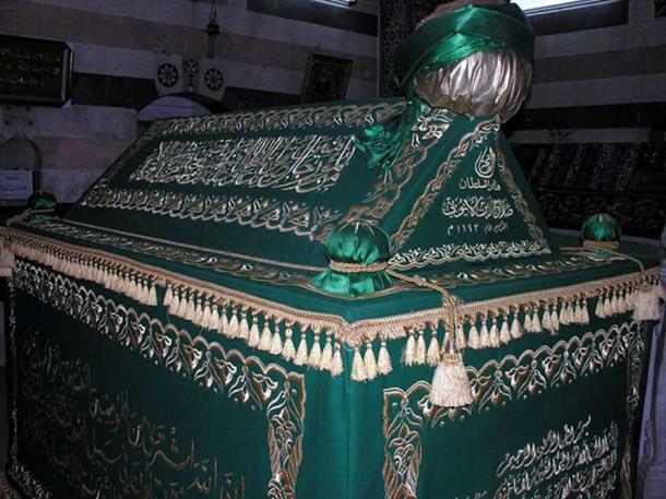 Sultan Saladin's tomb in Damascus. (Godfried Warreyn/CC BY SA 3.0)
