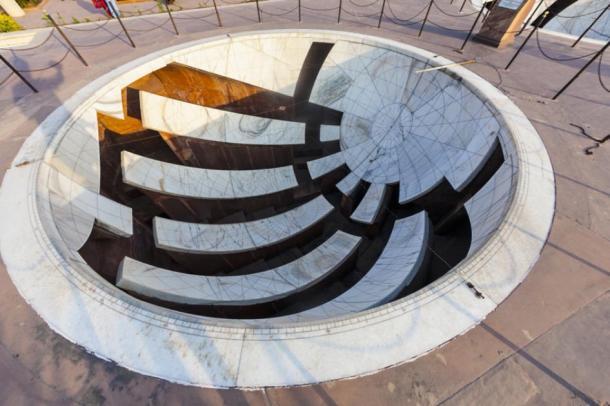 Sundial at Jantar Mantar observatory. (travelview / Adobe Stock)