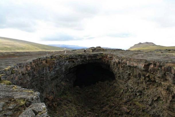 Surtshellir has been linked to the Vikings