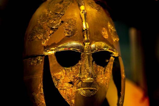 Sutton Hoo helmet.