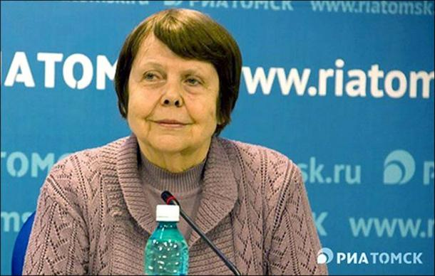 Svetlana Semyonova, president of Russian Graphological Society. Picture: Vesti Tomsk