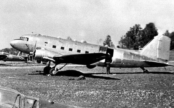 A Swedish spy / reconnaissance plane. Photo taken in 1951.