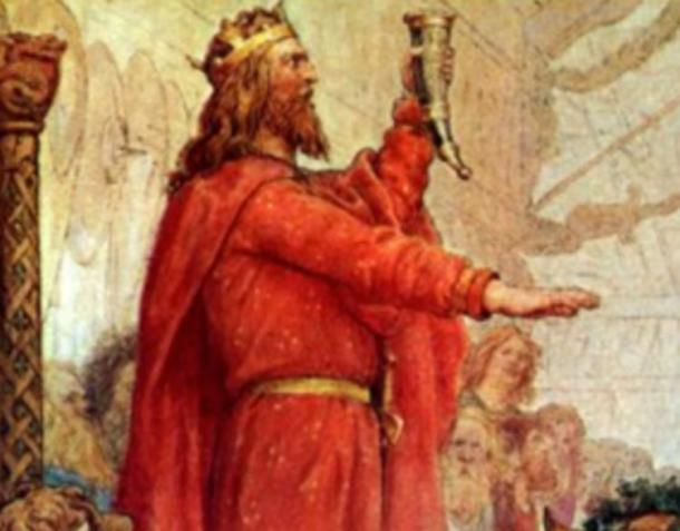 Sweyn Forkbeard, king of Denmark, England, and parts of Norway.
