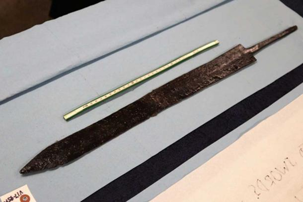 Sword Two with complete well-preserved blade