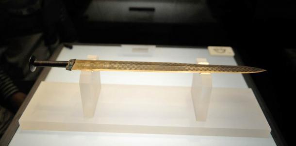 Sword of Goujian, Hubei Provincial Museum