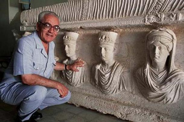 Syrian archaeologist Khaled al-Asaad. (Fair Use)