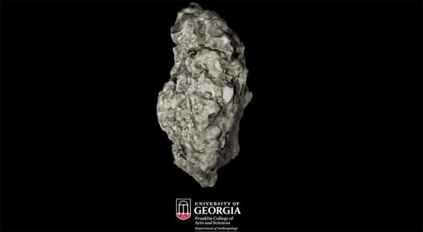 Tabby is a type of concrete made from shells, sand, ash and water. (Image: Franklin College of Arts and Science, University of Georgia)