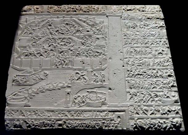 Tabula Iliaca: relief with illustrations drawn from the Homeric poems and the Epic Cycle, first century BC