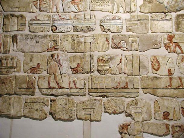Talatat blocks from Akhenaten's Aten temple in Karnak.