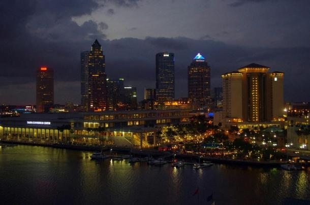 Dr Santilli's observations were made over Tampa Bay in Florida.