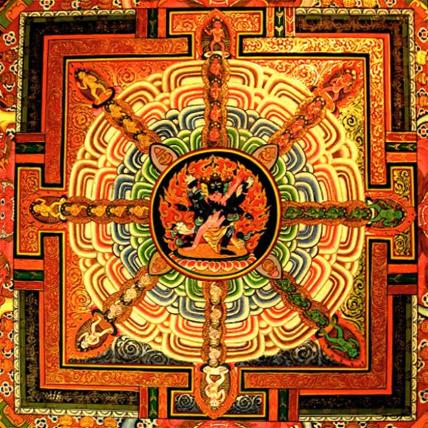 'Tantra thangka – centre'.