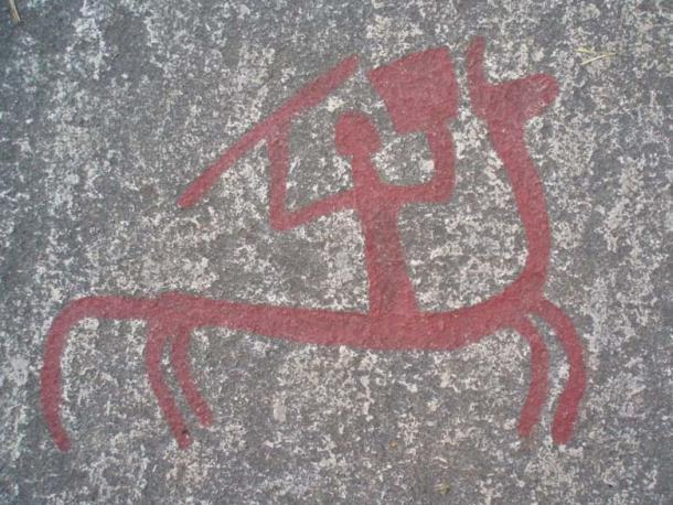 Tanum Rock carving found in the district of Bohuslän (Public Domain)